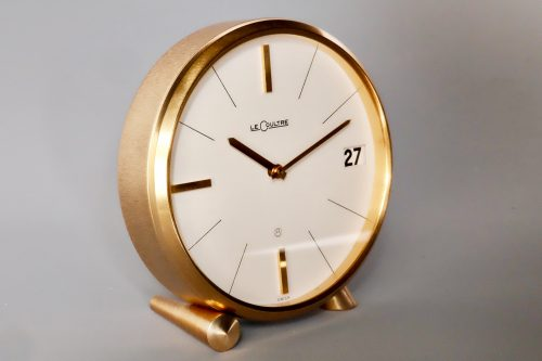 Jaeger LeCoultre Mid Century 8 day Swiss alarm clock