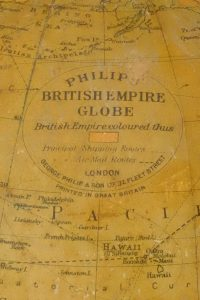 British Empire Globe