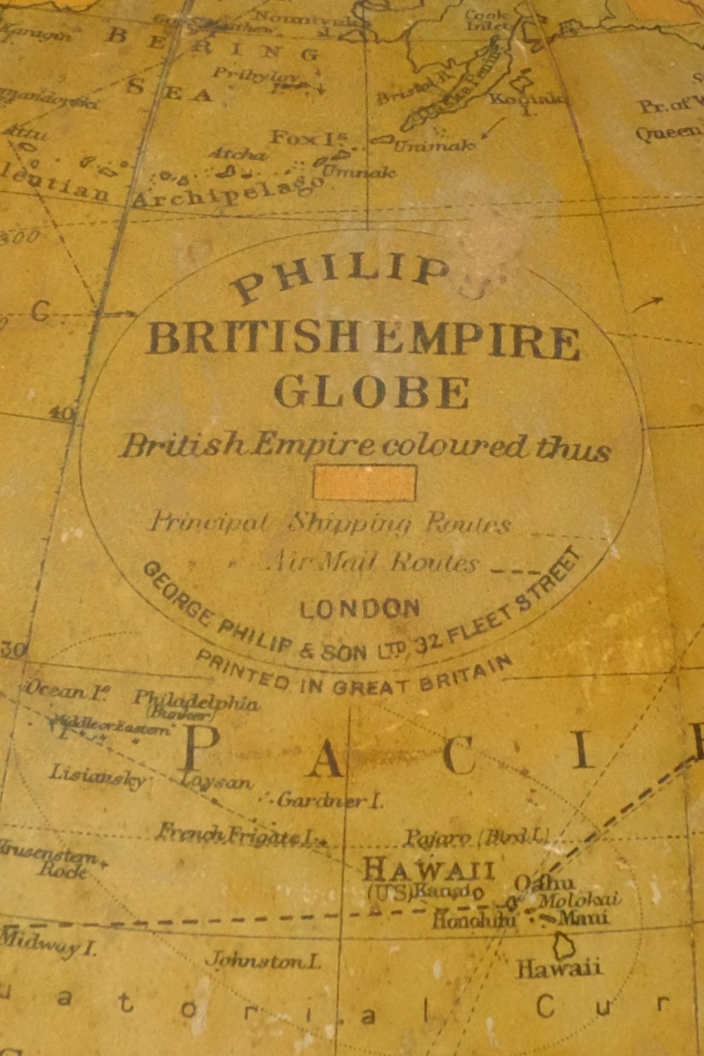 British Empire Globe