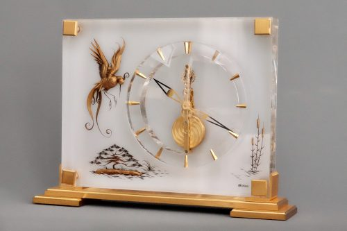 Jaeger LeCoultre Mid-Century Desk Clock