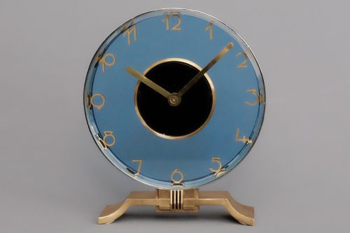 Jaeger LeCoultre Mid-Century Eight Day Swiss clock