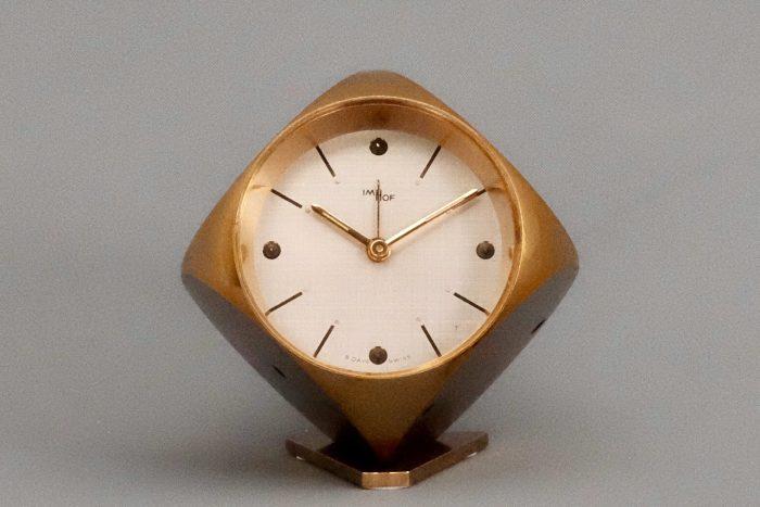 Mid Century Imhof Dice 8 day clock