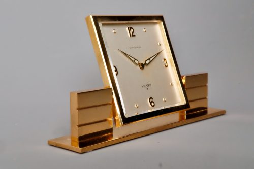 Luxor Mid Century desk clock
