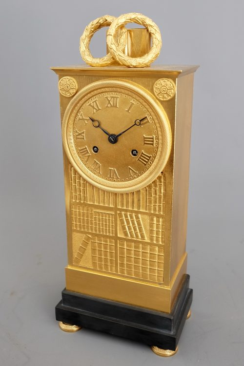 French_Empire_Ormolu_Striking_Clock