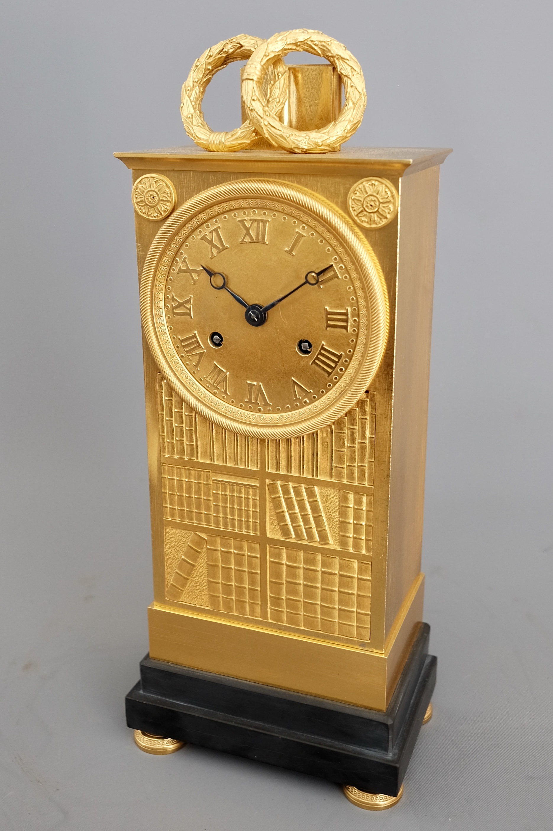 French_Empire_Ormolu_Striking_Clock