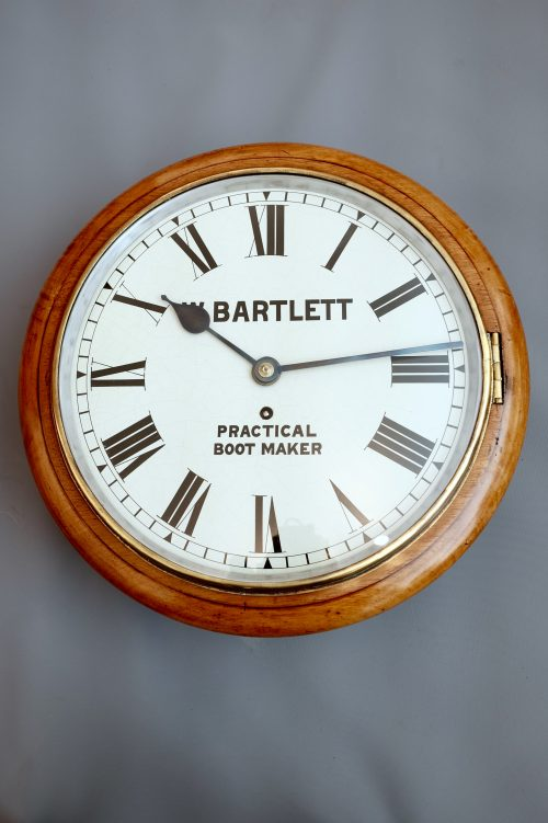 Antique Victorian Dial Wall Clock