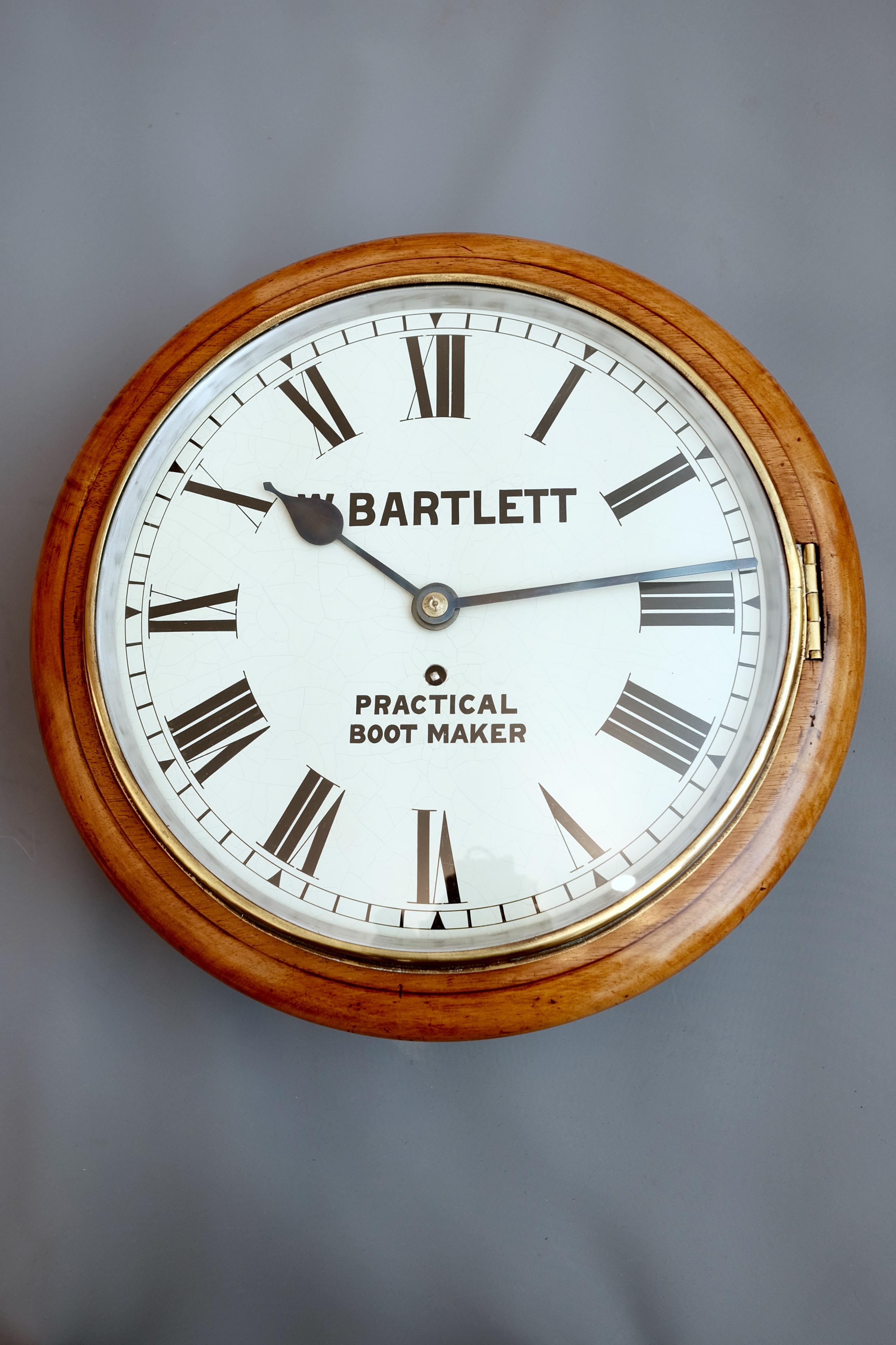 Antique Victorian Dial Wall Clock