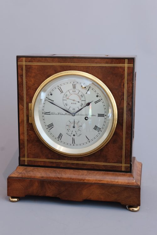 Art deco eight day mantel chronometer