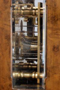 Detail of Art Deco brass chronometer