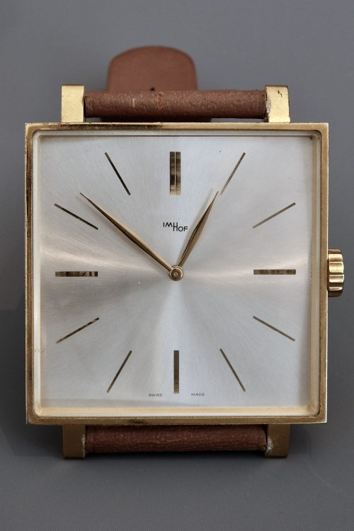 Mid Century Imhof Giant Exhibition Watch