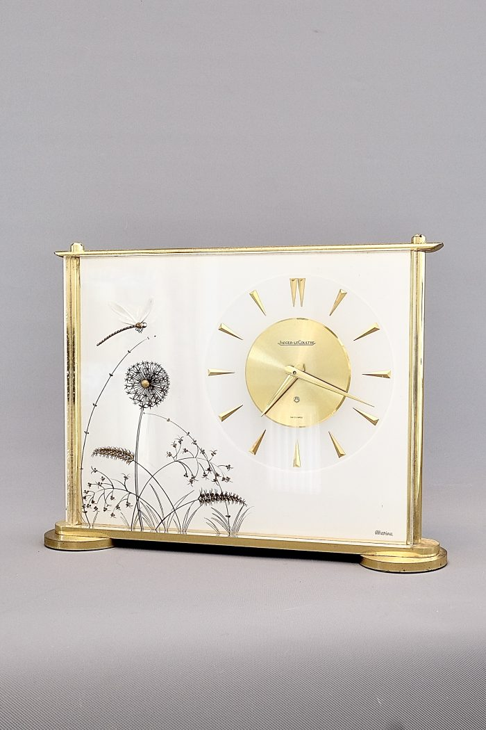 Jaeger LeCoultre Mid Century Lucite Clock