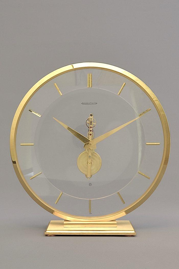 Jaeger LeCoultre Inline Skeleton Clock