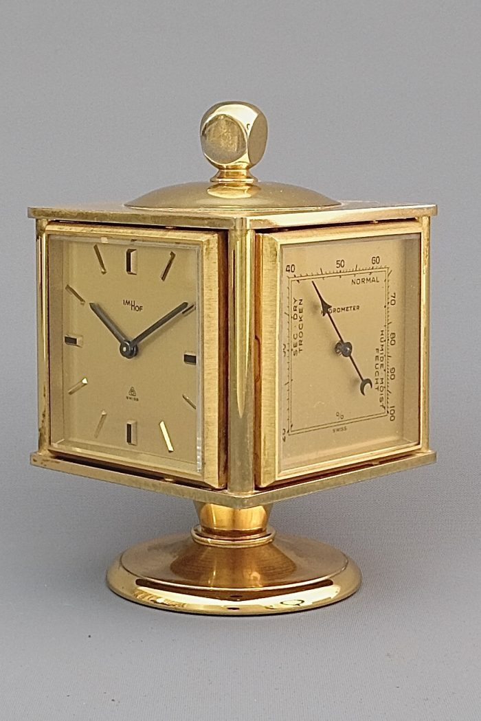 Imhof Mid Century Weather Compendium Clock