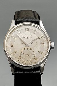 Vintage Longines Mens Steel Wristwatch