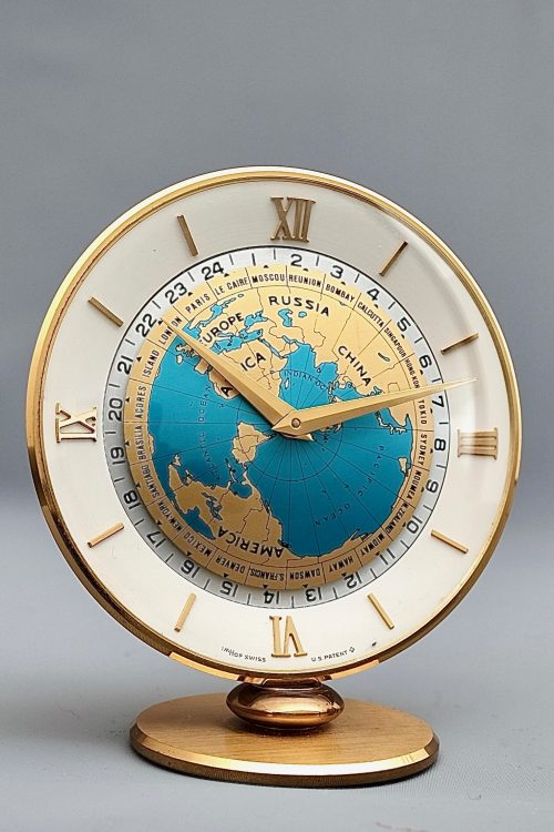 Imhof Mid-Century World Clock