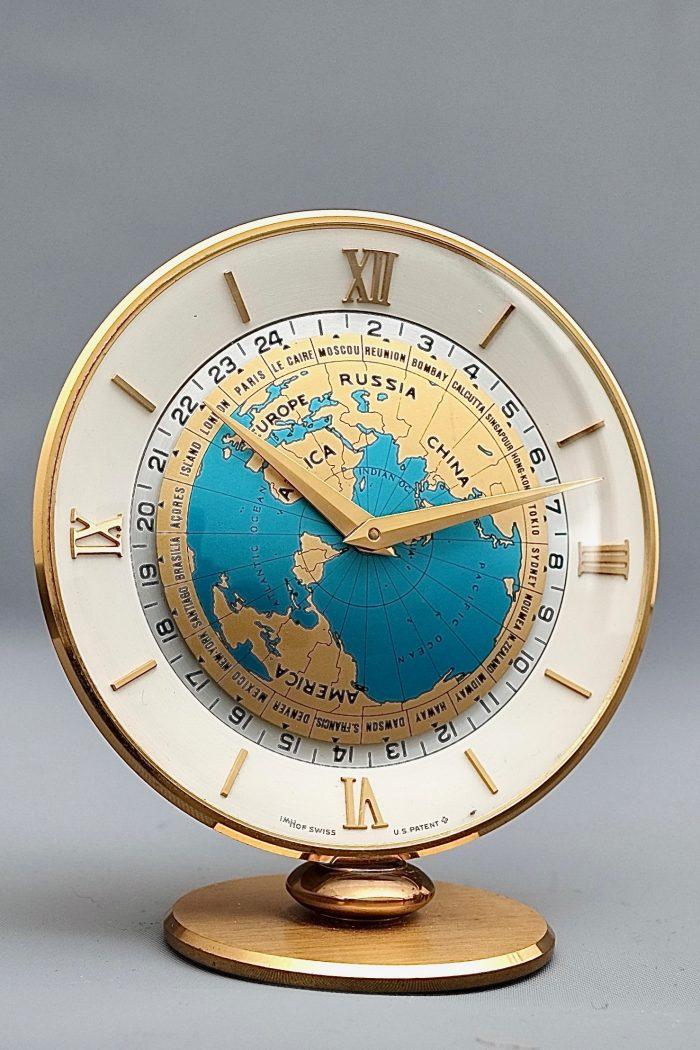 Imhof Mid-Century World Clock
