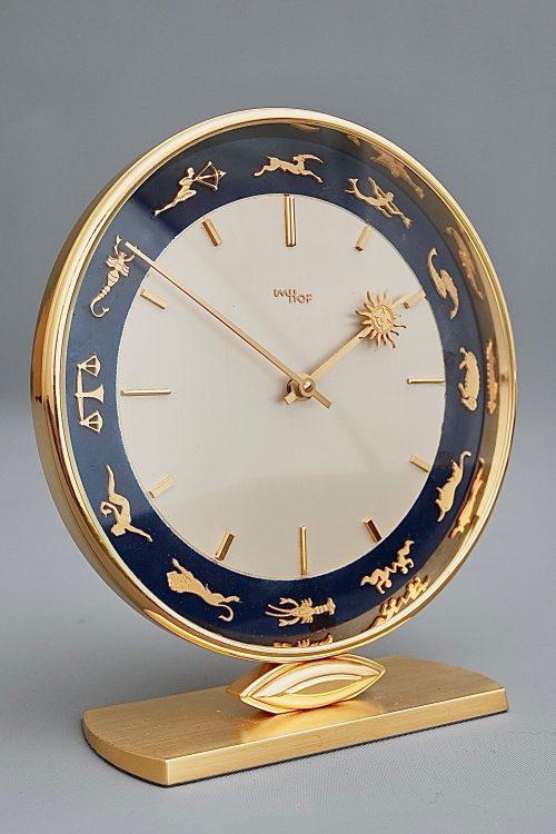 Imhof Zodiac Mid Century Desk Clock