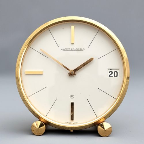 Jaeger Le Coultre desk clock