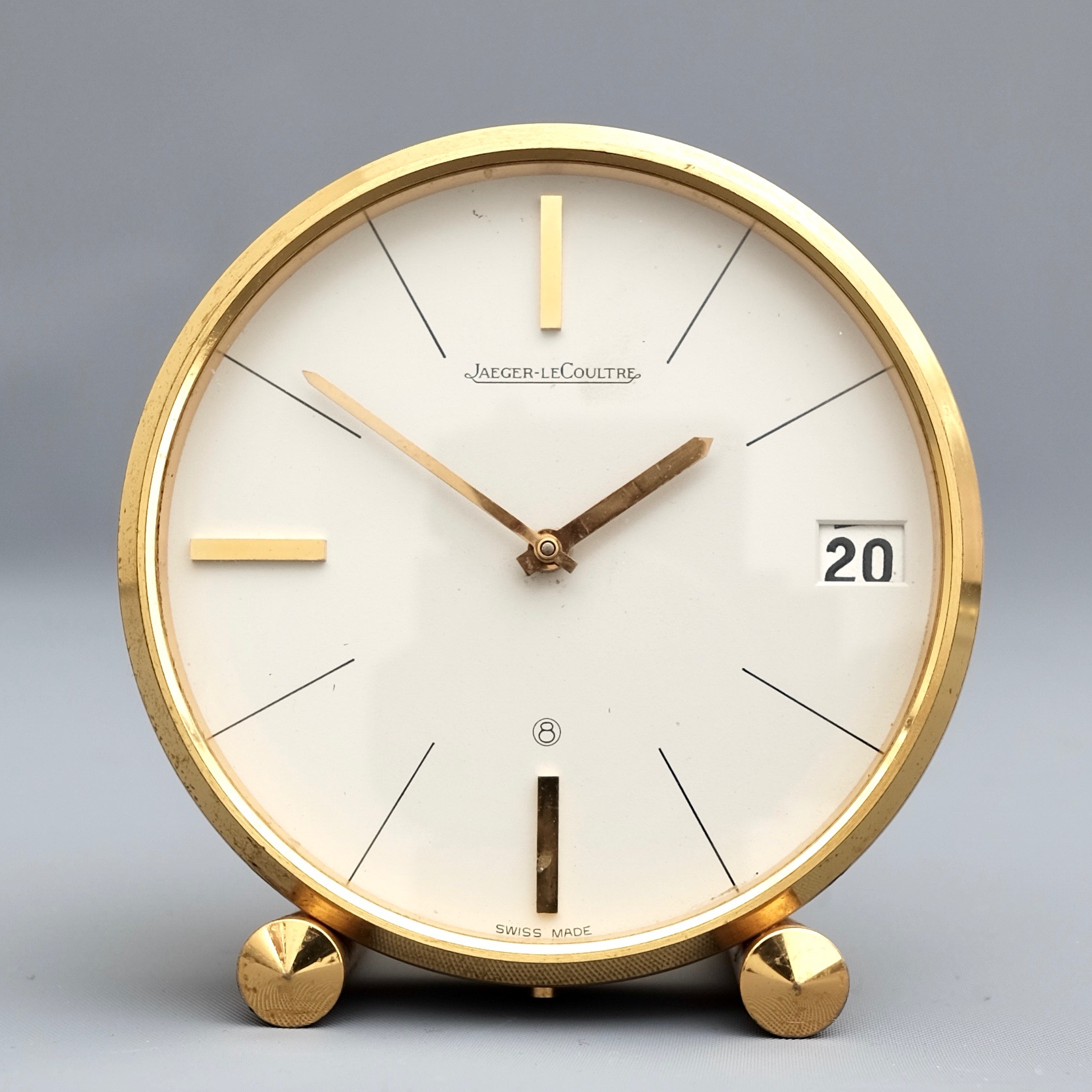 Jaeger Le Coultre desk clock