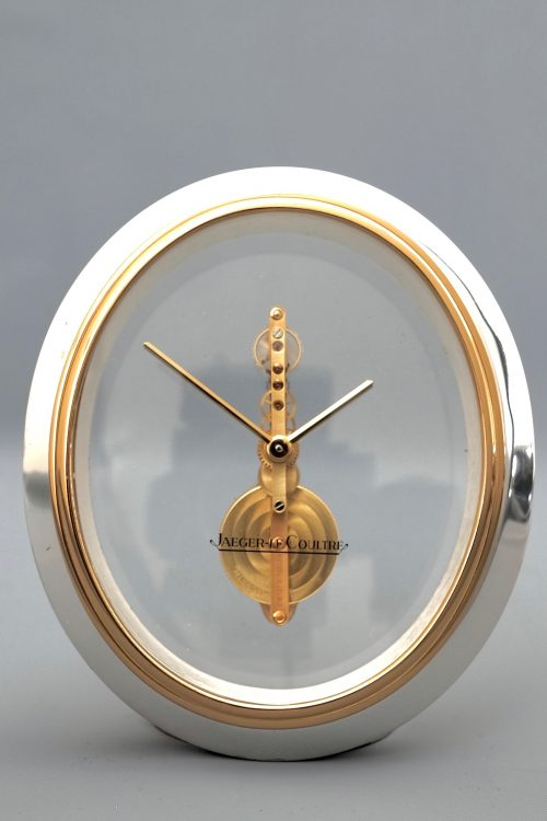 Jaeger LeCoultre Skeleton Desk Clock