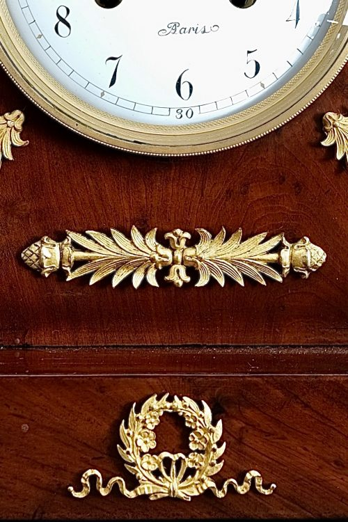 French Empire Striking Mantel Clock