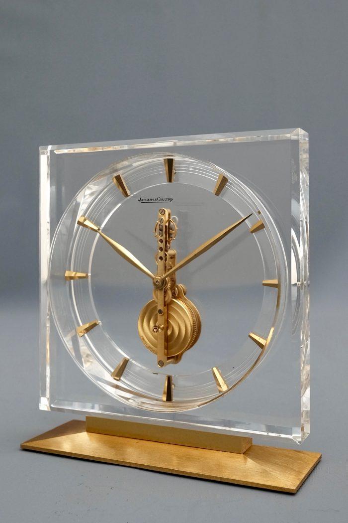 Lucite Vintage Desk Clock