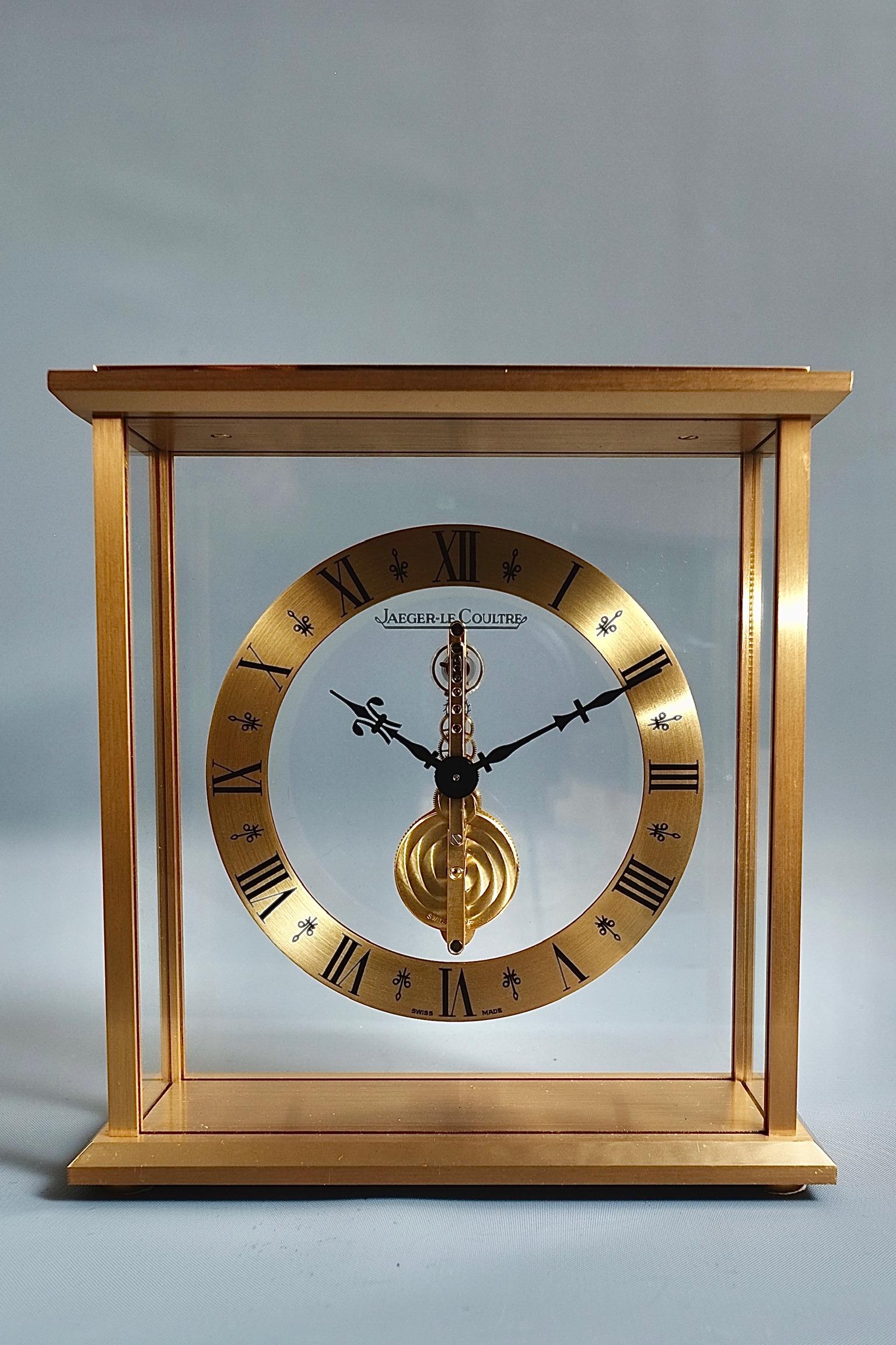 Mid century Jaeger Le Coultre Desk Clock