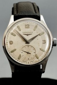 Vintage Longines Mens Steel Wristwatch