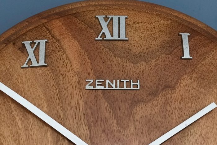 Zenith Art Deco Wall Clock