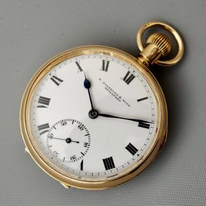 Antique 18 Carat Gold Pocket Watch
