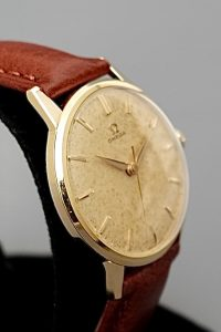 Omega Vintage 18ct Gold Manual Watch