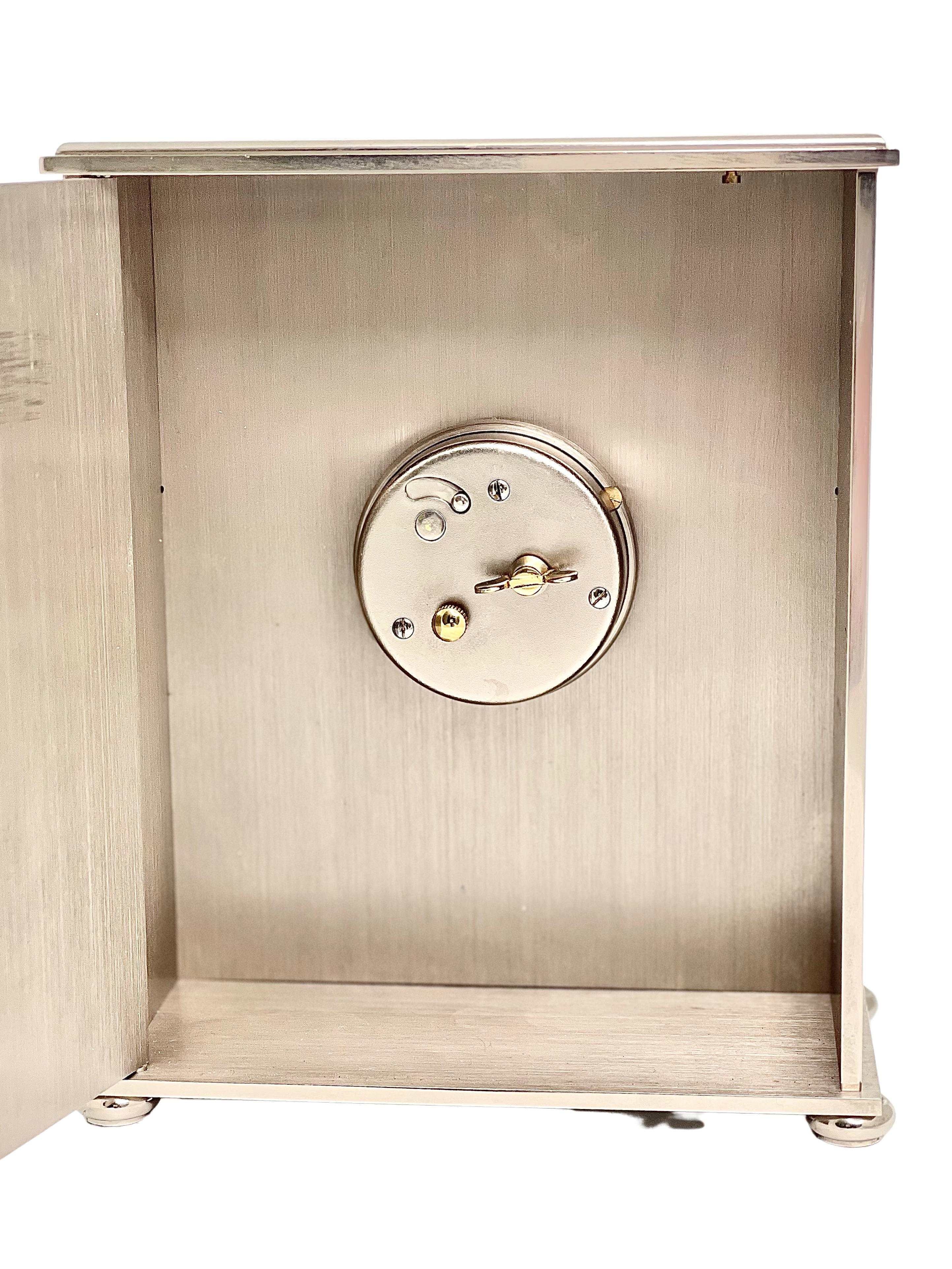 Jaeger LeCoultre Mid Century Lapis Desk Clock