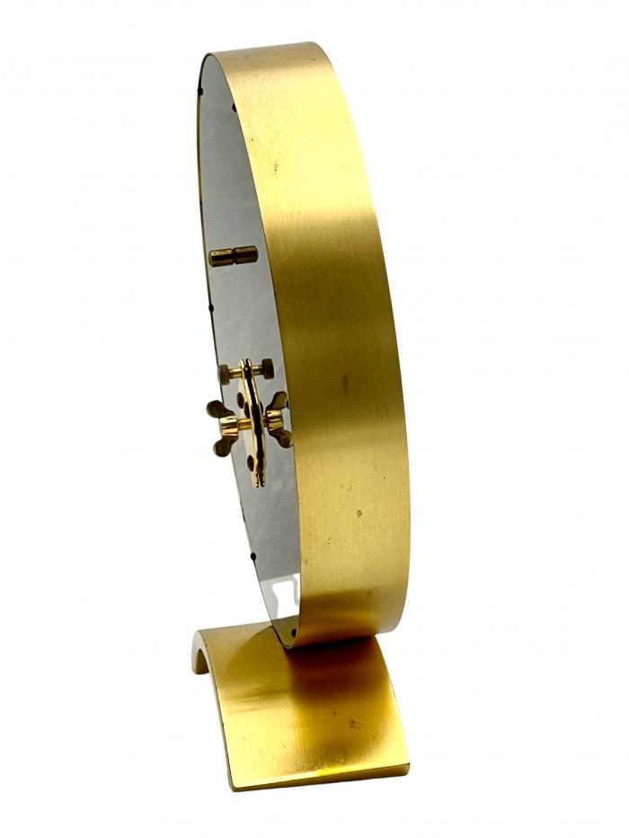 Jaeger LeCoultre Mid Century Inline Skeleton Clock