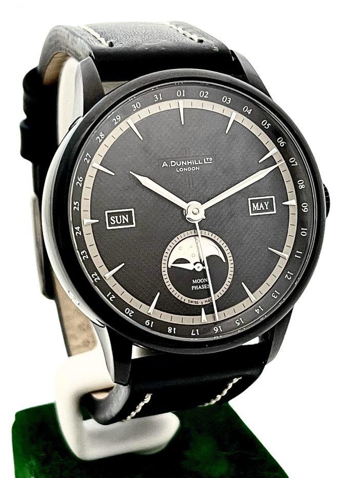 Jaeger LeCoultre Calendar Moon Dunhill Wristwatch