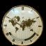Keinzle Mid Century World Clock