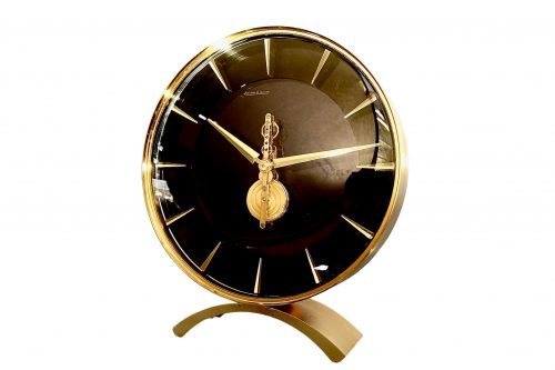 Jaeger LeCoultre MidCentury Inline Skeleton Clock