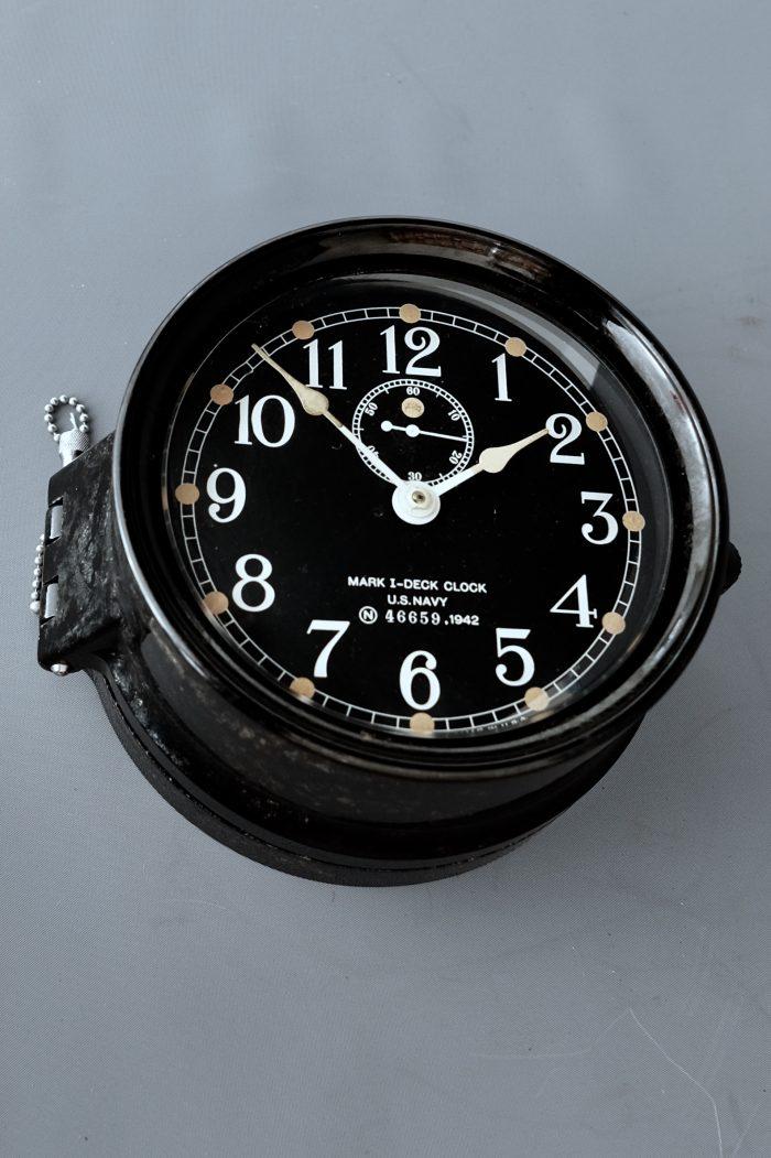 Navy eight ships clock