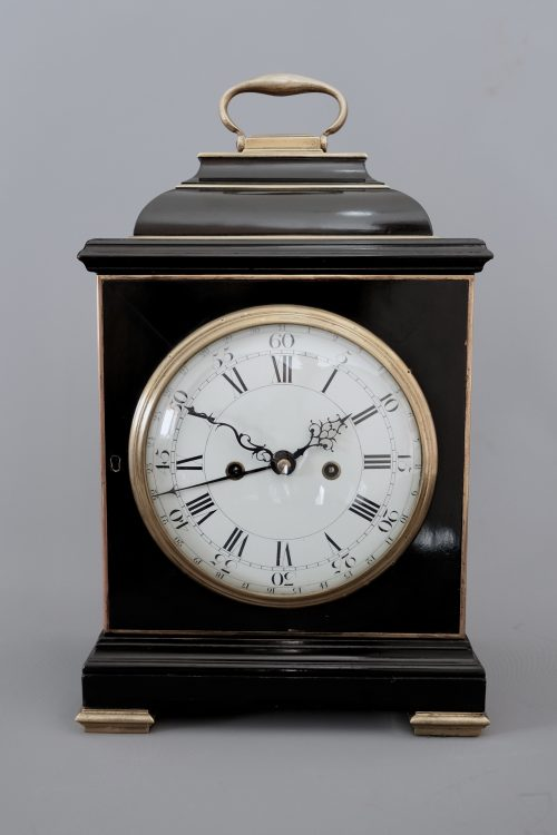 Georgian Bracket Clock Twin Fusee
